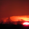 January 1 sunset.<br /> <br /> Photographer's Name: Harry Van Noy<br /> Photographer's City and State: Lafayette Township, Ind.