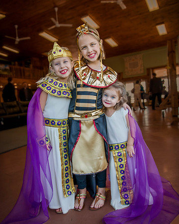 My granddaughters Evelyn, Nilsa and Kambria Fox at a school event on Egypt.<br /> <br /> Photographer's Name: Terry Lynn Ayers<br /> Photographer's City and State: Anderson, Ind.