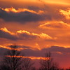 The 4th of January sunset.<br /> <br /> Photographer's Name: Harry Van Noy<br /> Photographer's City and State: Lafayette Township, Ind.