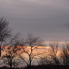 A sliver of sun light. <br /> <br /> Photographer's Name: Harry Van Noy<br /> Photographer's City and State: Lafayette Township, Ind.