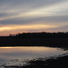 Sunset, reflecting on a flooded, country field.<br /> <br /> Photographer's Name: Harry Van Noy<br /> Photographer's City and State: Lafayette Township, Ind.
