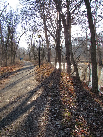 Killbuck Creek, adjacent to the Shadyside Lake trails, on a warm, sunny, mid-January day.<br /> <br /> Photographer's Name: Harry Van Noy<br /> Photographer's City and State: Lafayette Township, Ind.
