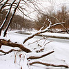 A look downstream of White River at Mounds Park as the river is icing over.<br /> <br /> Photographer's Name: Jerry Byard<br /> Photographer's City and State: Anderson, Ind.