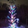 My bottle tree on a winter's evening<br /> <br /> Photographer's Name: Debra Howell<br /> Photographer's City and State: Pendleton, Ind.