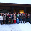 A nice group showed up for Mounds Park first day hike even with zero temperatures.<br /> <br /> Photographer's Name: Jerry Byard<br /> Photographer's City and State: Anderson, Ind.