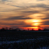 A lovely sunset over Madison County on Friday evening.<br /> <br /> Photographer's Name: Jerry Byard<br /> Photographer's City and State: Anderson, Ind.