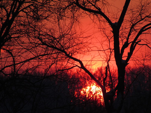 The last sunset for 2017!<br /> <br /> Photographer's Name: Harry Van Noy<br /> Photographer's City and State: Lafayette Township, Ind.
