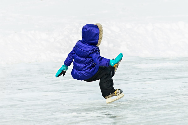My granddaughter Aislynn Ayers learning to skate but with many falls!<br /> <br /> Photographer's Name: Terry Lynn Ayers<br /> Photographer's City and State: Anderson, Ind.