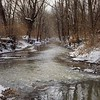 January thaw...Killbuck Creek.<br /> <br /> Photographer's Name: J.R. Rosencrans<br /> Photographer's City and State: Alexandria, Ind.