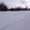 Mounds Park  Animal tracks, cross country ski tracks near the entrance. Taken 1/16/2018<br /> <br /> Photographer's Name: Pari Ann Bell<br /> Photographer's City and State: Anderson, Ind.