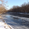 The frozen mighty White River at Mounds Park.<br /> <br /> Photographer's Name: J.R. Rosencrans<br /> Photographer's City and State: Alexandria, Ind.