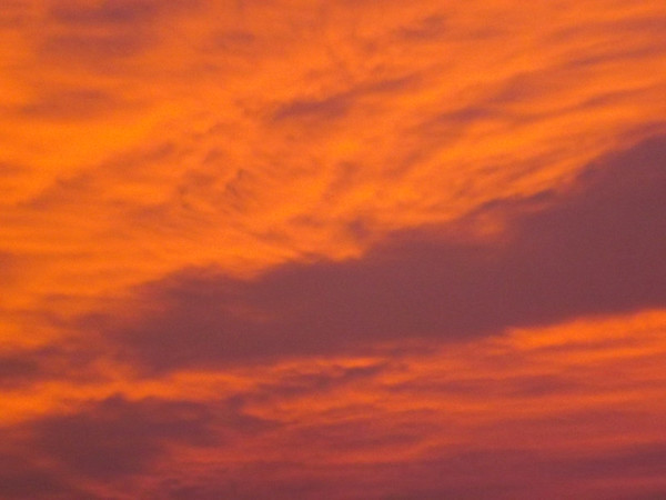 """Red Dawn"" in Richland Township.<br /> <br /> Photographer's Name: J.R. Rosencrans<br /> Photographer's City and State: Alexandria, Ind."