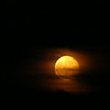 Orange super moon over Anderson.<br /> <br /> Photographer's Name: Brian Fox<br /> Photographer's City and State: Anderson, Ind.