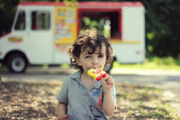 My nephew, Carson Passmore, enjoying summertime at Shadyside Park. <br /> <br /> Photographer's Name: Shaley Passmore<br /> Photographer's City and State: Anderson, Ind.