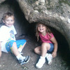 My kids, Thias and Branlin McCoy, enjoying our hike at Mounds State Park.<br /> <br /> Photographer's Name: Molly McCoy<br /> Photographer's City and State: Anderson, Ind.