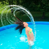 Kelly Dossett's granddaughter Samantha Poynter, 13, of Scipio<br /> Indiana who was cooling off in her family's backyard pool.