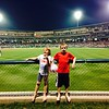 This is Kendall and Ryan Long at a recent Indianapolis Indians game.<br /> <br /> Photographer's Name: Carrie Long<br /> Photographer's City and State: Alexandria , Ind.