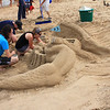 This sand sculpture at the Indiana Dunes State Park had a mermaid as part of it.<br /> <br /> Photographer's Name: Jerry Byard<br /> Photographer's City and State: Anderson, Ind.