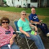 Sally Cuneo, Bonnie Ellis, and Dick Ellis enjoy the Madison County 4-H Fair parade last Sunday.<br /> <br /> Photographer's Name: Carrie Long<br /> Photographer's City and State: Alexandria, Ind.