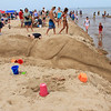 The Indiana Dunes State Park had a sand sculpture contest on Saturday and this is one of the creatures being created.<br /> <br /> Photographer's Name: Jerry Byard<br /> Photographer's City and State: Anderson, Ind.