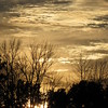 Wednesday night sunset.<br /> <br /> Photographer's Name: Harry Van Noy<br /> Photographer's City and State: Lafayette Township, Ind.