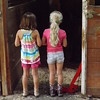 Waiting to feed...my barn with young visitors in Richland Township.<br /> <br /> Photographer's Name: J.R. Rosencrans<br /> Photographer's City and State: Alexandria, Ind.