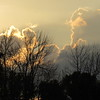 A Friday sunset.<br /> <br /> Photographer's Name: Harry Van Noy<br /> Photographer's City and State: Lafayette Township, Ind.