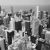The Chicago skyline, taken from the observation deck of Willis Tower in Chicago.<br /> <br /> Photographer's Name: Barbara Grimball<br /> Photographer's City and State: Anderson, Ind.