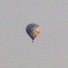 A hot air balloon in Richland Township.<br /> <br /> Photographer's Name: J.R. Rosencrans<br /> Photographer's City and State: Alexandria, Ind.