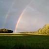 Double rainbow.<br /> <br /> Photographer's Name: Morgan Elbert<br /> Photographer's City and State: Alexandria, Ind.