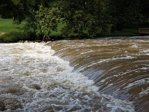 Fall Creek July 1.<br /> <br /> Photographer's Name: J.R. Rosencrans<br /> Photographer's City and State: Alexandria, Ind.