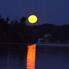 """Full """"Buck Moon,"""" taken at Geist Reservoir.<br /> <br /> Photographer's Name: J.R. Rosencrans<br /> Photographer's City and State: Alexandria, Ind."""