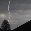 Lightning bolt.<br /> <br /> Photographer's Name: Rebecca Reding<br /> Photographer's City and State: Anderson, Ind.
