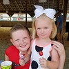 Cousins Reid Utterback and Reagan Jackson enjoying all the fair has to offer including lemon shake-ups!<br /> <br /> Photographer's Name: Layne Jackson<br /> Photographer's City and State: Daleville, Ind.