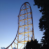 This is the Top Thrill Dragster at Cedar Point in Sandusky, Ohio. It goes 420 feet high and is one of the tallest roller coasters in the world.<br /> <br /> Photographer's Name: Carrie Long<br /> Photographer's City and State: Alexandria, Ind.