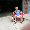 Miyo, John and Satchi Etchison (grandfather and twin granddaughters) going for a wagon ride and enjoying the summer.<br /> <br /> Photographer's Name: John Etchison<br /> Photographers City and Country: Anderson, Ind.