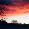 Eula May Carr of Anderson took this photo of a sunset on April 29th.