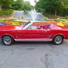 My best friend Beth's 1966 Ford Mustang convertible. It is a really cool ride .<br /> <br /> Photographer's Name: Nicole Winkler<br /> Photographer's City and State: Anderson, Ind.