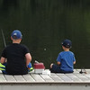Brothers Lucas Coxe and Eli Coxe fishing at Shadyside Lake.<br /> <br /> Photographer's Name: J.R. Rosencrans<br /> Photographer's City and State: Alexandria, Ind.
