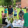 Making ice cream at Heritage Days at Mounds Park was one of the activities.<br /> <br /> Photographer's Name: Jerry Byard<br /> Photographer's City and State: Anderson, Ind.