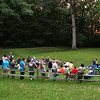 A Summer Solstice hike at Mounds Park was well attended last Sunday evening.<br /> <br /> Photographer's Name: Jerry Byard<br /> Photographer's City and State: Anderson, Ind.