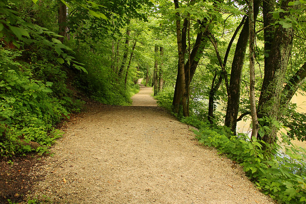 This is a colorful look at Trail 5 along the river at Mounds Park.<br /> <br /> Photographer's Name: Jerry Byard<br /> Photographer's City and State: Anderson, Ind.