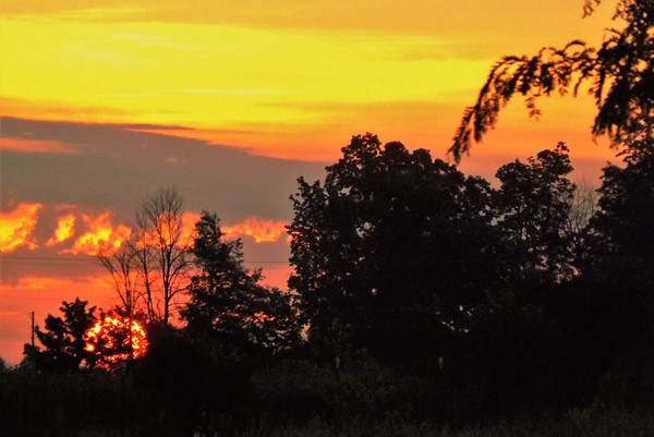 A June sunrise in Richland Township.<br /> <br /> Photographer's Name: J.R. Rosencrans<br /> Photographer's City and State: Alexandria, Ind.