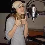 Anderson's Nicole Winkler recording a song in Nashville, Tenn., at Studio X.<br /> <br /> Photographer's Name: Nicole Winkler<br /> Photographer's City and State: Anderson, Ind.