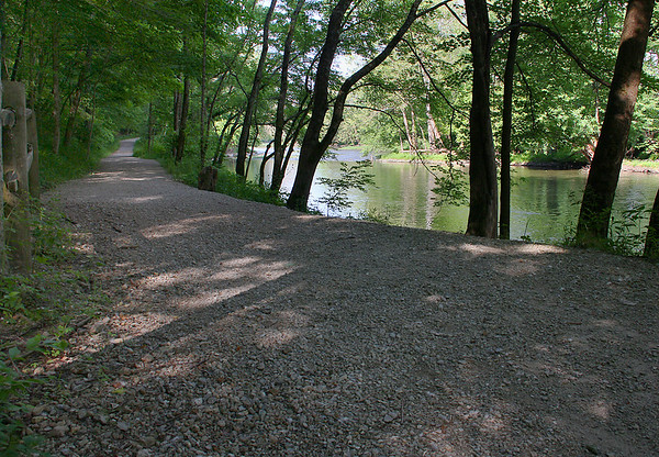 On June 1, Trail 5 at Mounds Park was a pretty place to hike.<br /> <br /> Photographer's Name: Jerry Byard<br /> Photographer's City and State: Anderson, Ind.