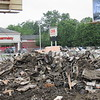 Debris of the buildings torn down on Broadway and Cross Street.<br /> <br /> Photographer's Name: Harry Van Noy<br /> Photographer's City and State: Lafayette Township, Ind.