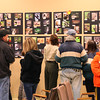 Several people are viewing a section of the photos in the contest at Mounds Park on Saturday.<br /> <br /> Photographer's Name: Jerry Byard<br /> Photographer's City and State: Anderson, Ind.