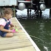 My niece Alisa, 4, catching her first fish.<br /> <br /> Photographer's Name: Nicole Winkler<br /> Photographer's City and State: Anderson, Ind.