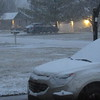 Overnight snowfall!<br /> <br /> Photographer's Name: Harry Van Noy<br /> Photographer's City and State: Lafayette Township, Ind.