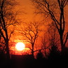 A recent sunset in Madison County.<br /> <br /> Photographer's Name: Harry Van Noy<br /> Photographer's City and State: Lafayette Township, Ind.